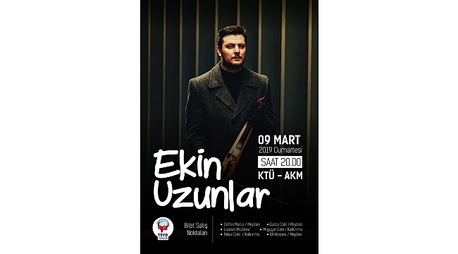 Ekin Uzunlar Trabzon'da konser verecek