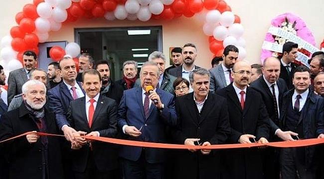 Mehmet Atalay Spor Salonu açıldı