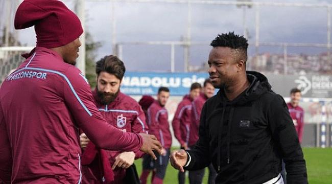 Onazi Trabzon'a döndü