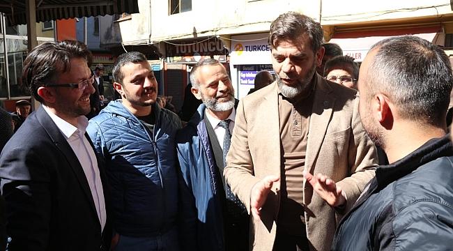 Saadet Partisi Büyükşehir Adayı Saka Vakfıkebir'de...