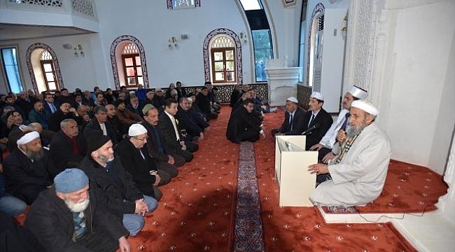 Trabzon'da Ahi Evren camii açıldı