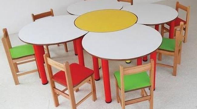Anaokulu Malzemeleri ve Masaları
