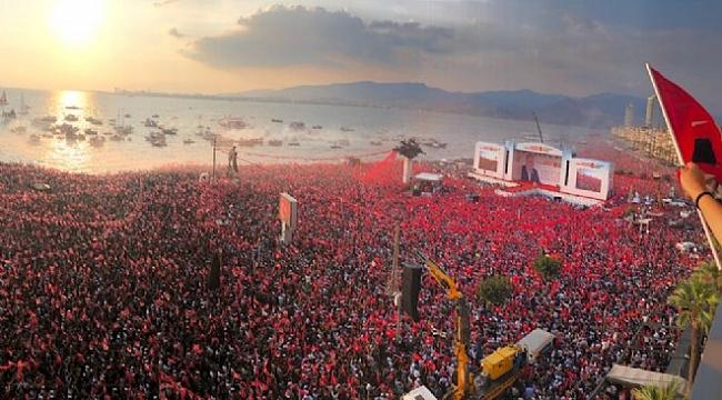 CHP İzmir'de Bayrağı Yine Kaptırmadı
