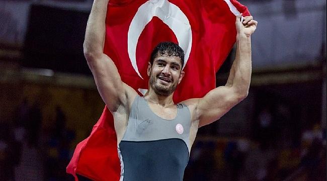 Milli sporcu Taha Akgül Avrupa şampiyonu oldu