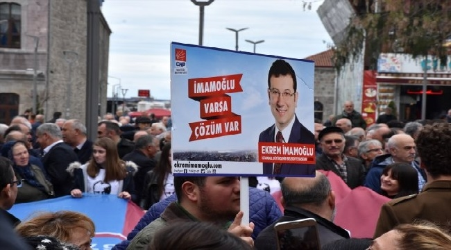 Trabzon'da İmamoğlu için kutlama yapıldı
