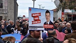 Trabzon'a İmamoğlu için kutlama yapıldı