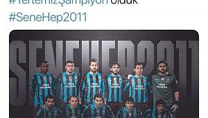 Trabzonspor'dan 2011 paylaşımı