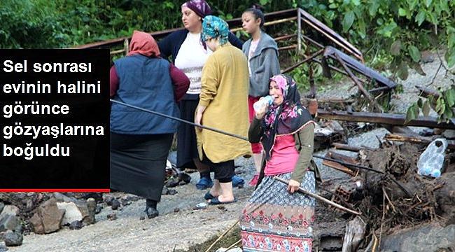 Afet sonrası evlerini görenler yıkıldı