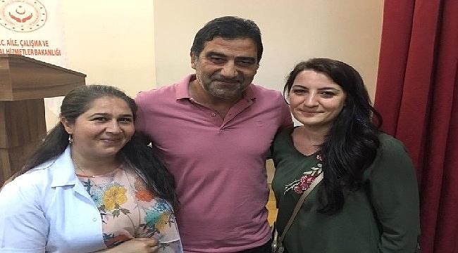 Ahmet Ağaoğlu ve Ünal Karaman'dan çocuklar ziyaret