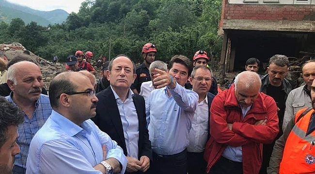 CHP Milletvekili Hamzaçebi ve Kaya Araklı'da