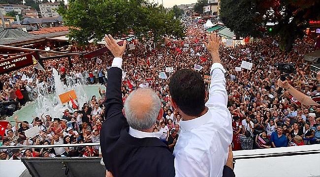 Kılıçdaroğlu: Ekrem Başkan, üç büyük imparatorluğa başkenlik yapmış bir İstanbul'u yönetecek başkan