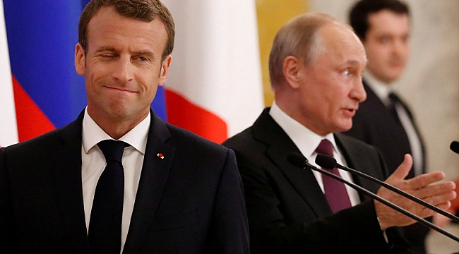 Macron: Rusya'yı Çin'e bırakmayalım