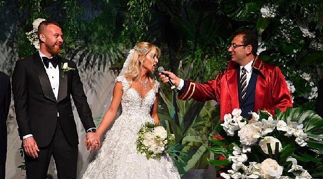 Ekrem İmamoğlu, İBB Başkanı olarak ilk nikahını kıydı