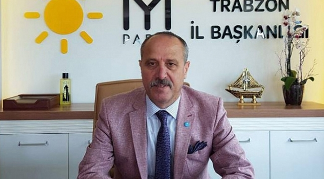 İYİ Parti Trabzon'da istifa depremi!