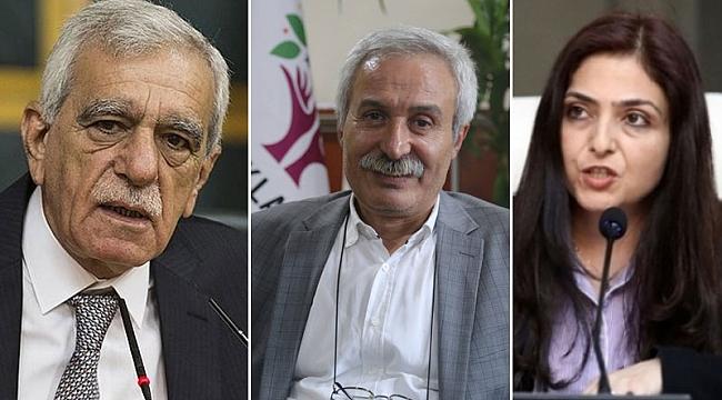 Diyarbakır, Mardin ve Van Belediye Başkanları alındı