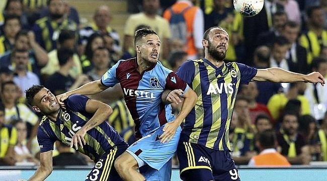 Eksik ve yorgun Trabzonspor Fener'le berabere kaldı