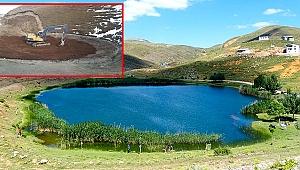 Dipsiz göl aslında ülkenin fotoğrafı