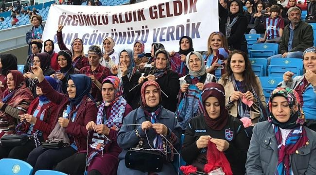 En çok kadın taraftar Trabzonspor'da