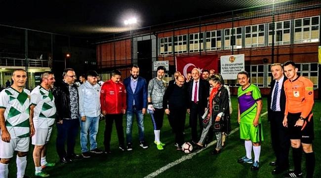 Gazetecilerin futbol turnuvası başladı