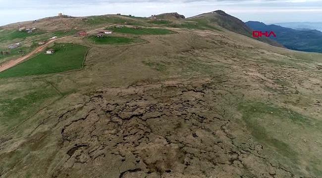 'Hassas alan' tescilli turba bataklığı yakıldı