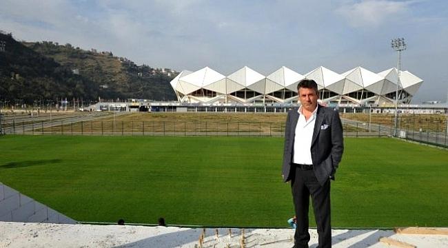 Hekimoğlu Trabzon FK yeni sahasına kavuşuyor
