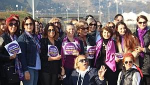'Keşanlı kadınlar' 'Kadına karşı şiddetle mücadele' için direksiyon başına geçti