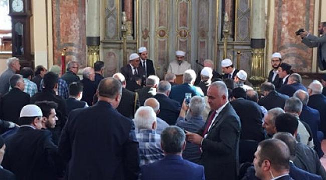 Trabzon'da Atatürk için mevlit okundu