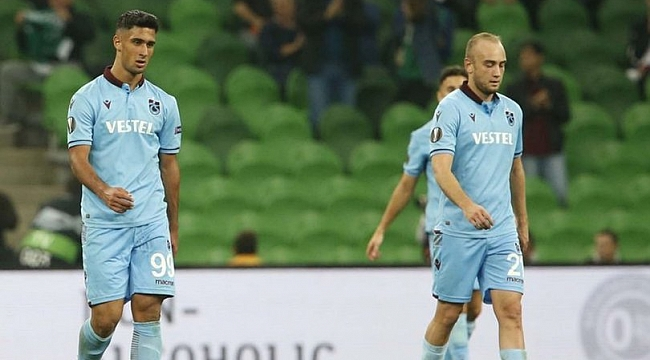 Trabzonspor Avrupa'da havlu attı