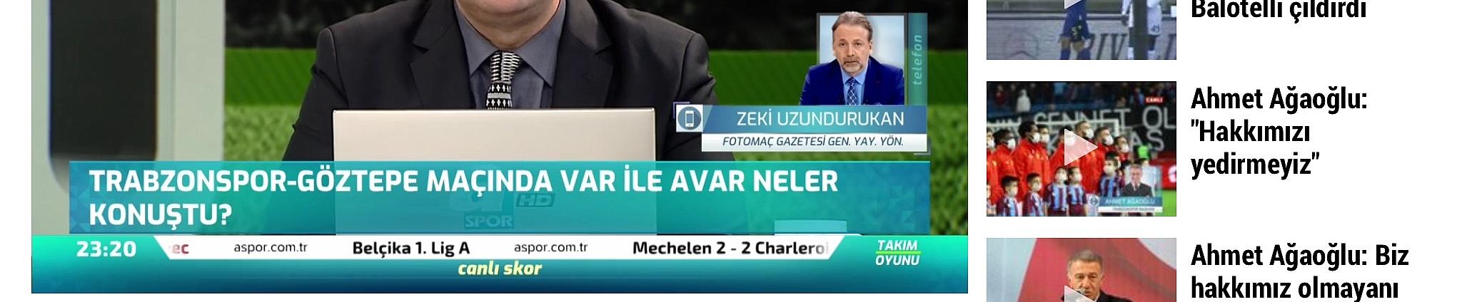 Trabzonspor VAR odasında skandal kavga