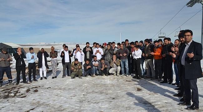 Bu da turizmcilerin kar duası
