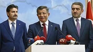Davutoğlu'nun partisinin adı 'Gelecek Partisi' olacak