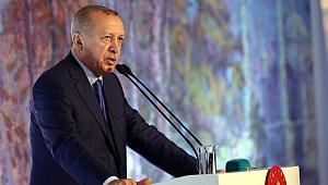 Erdoğan: Kanal İstanbul'un siyasi bir boyutu olacak