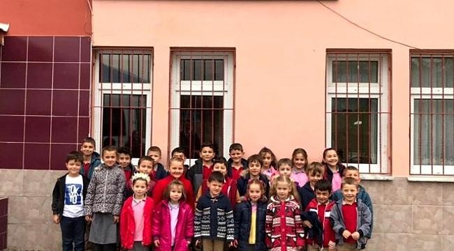 Köy çocukları spor tesisleri ile buluşuyor