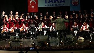 Taka Müzik ve Halk Oyunları Derneği'nden muhteşem konser