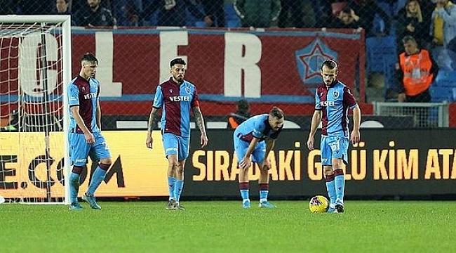 Trabzonspor şampiyonluk maçını kaybetti