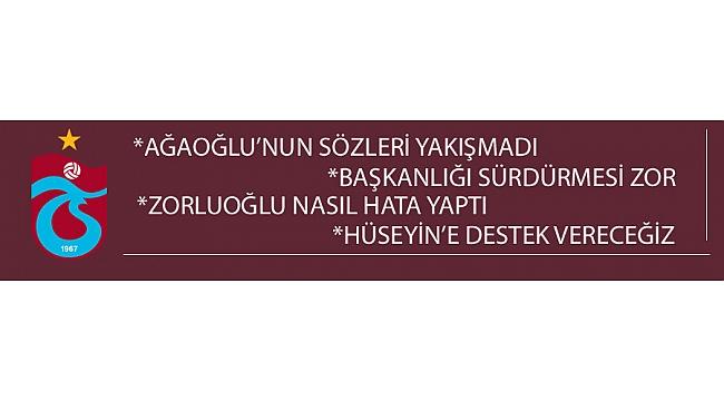 Trabzonspor Gündeminden Kara Tahta'ya yazılanlar