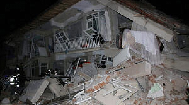 Elazığ'da Şiddetli Artçı Deprem Oldu