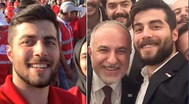 Oğlunu da Kızılay genel başkan yardımcısı yapmış