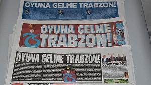 Oyuna gelme Trabzon