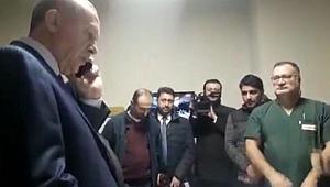 Tayyip Erdoğan Trabzon'da bir işvereni aradı ve...