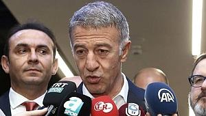 Trabzonspor Başkanı Ağaoğlu'ndan sert açıklama