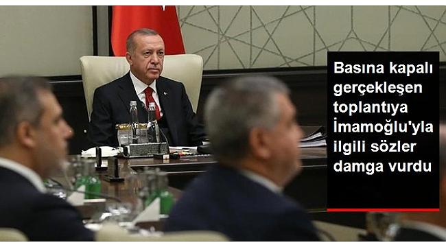 Erdoğan ile Mustafa Ataş arasında 'İmamoğlu' diyaloğu