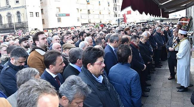 Trabzon banka müdürünü uğurladı