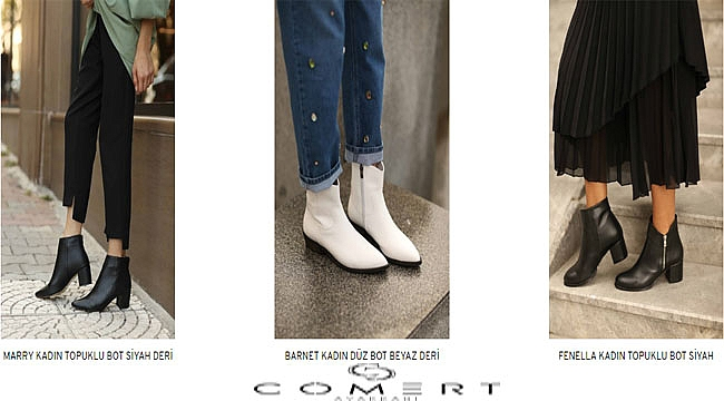 Yılın Kadın Topuklu Bot Modelleri