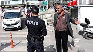 65 Yaş Üstü Vatandaşlar Uyarılarak Evlerine Gönderildi
