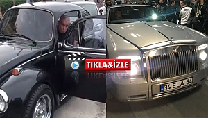 Hacıosmanoğlu Vosvos'la geldi, Rolls-Royce'la gitti