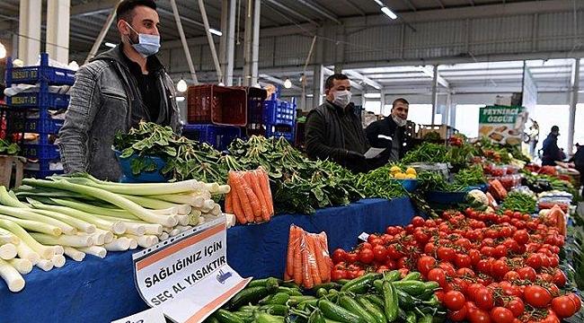İşte karantina ayında gıda enflasyonu