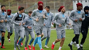 Trabzonspor'da futbolculara dikkat çeken koronavirüs önlemi