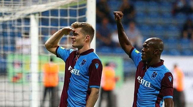 Trabzonspor'un yabancıları Süper Lig'i solladı.