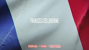 Fransızca Seslendirme